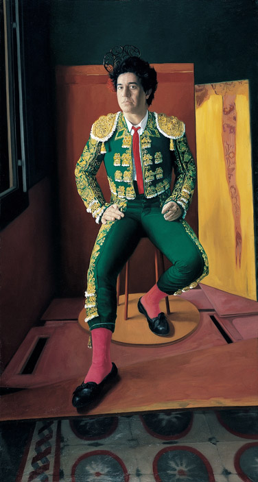 "Pedro Almodóvar ""Matador"". Pedro Almodóvar collection. 1988. Oil on cloth. 200×107 cm"